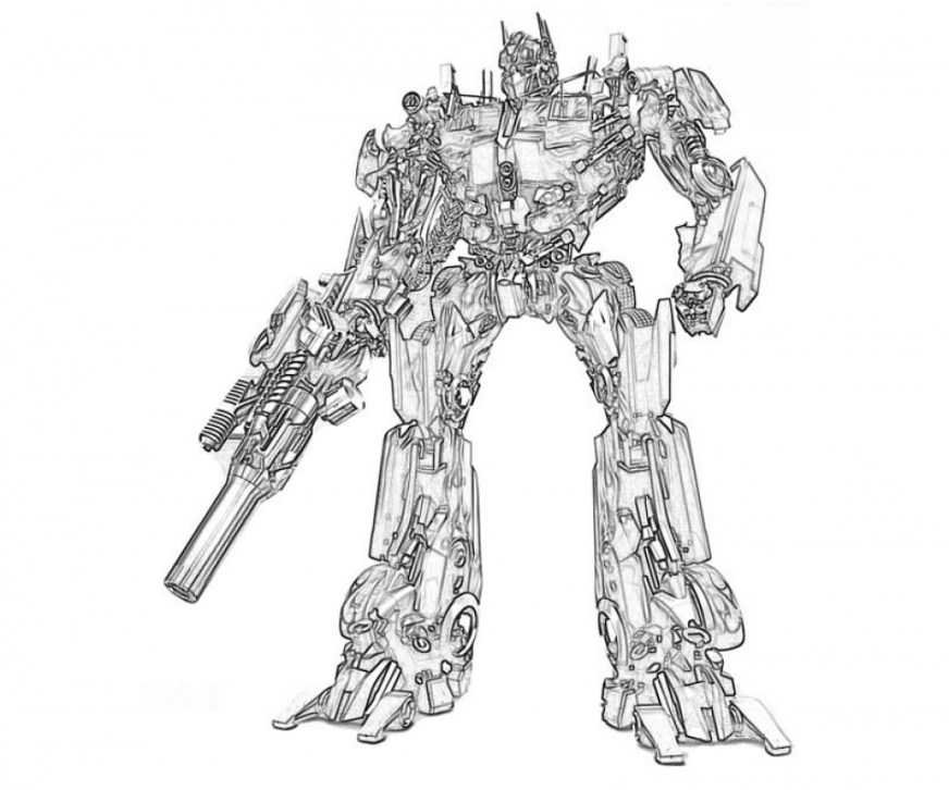 get this optimus prime coloring page to print online lj8rr