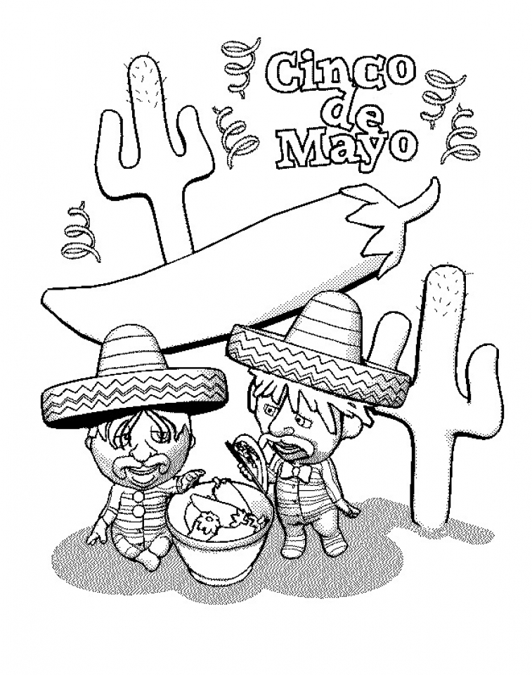 get this printable image of cinco de mayo coloring pages 90232