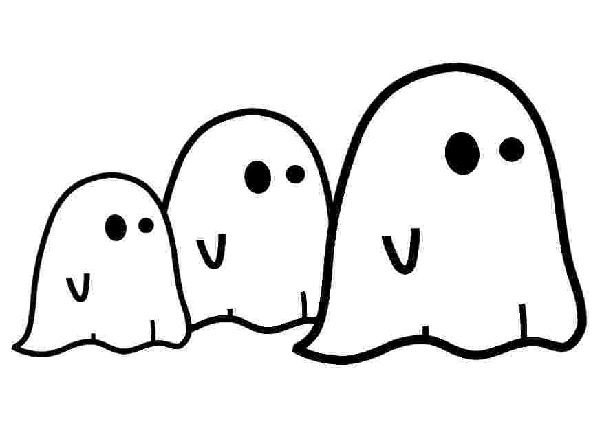 ghost coloring pages printable ghost coloring pages to