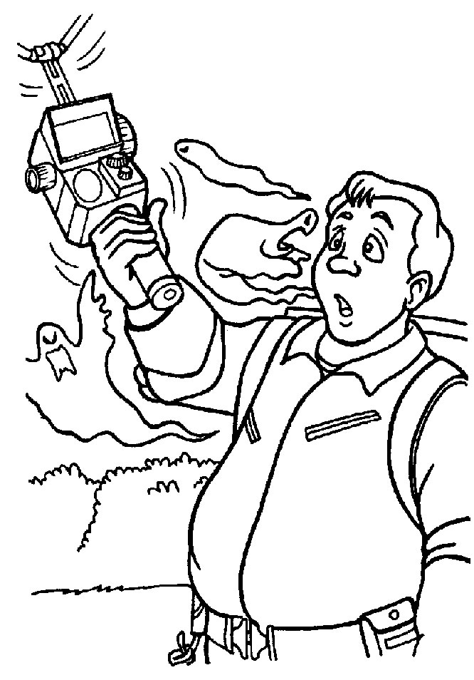 ghostbusters 8 movies printable coloring pages