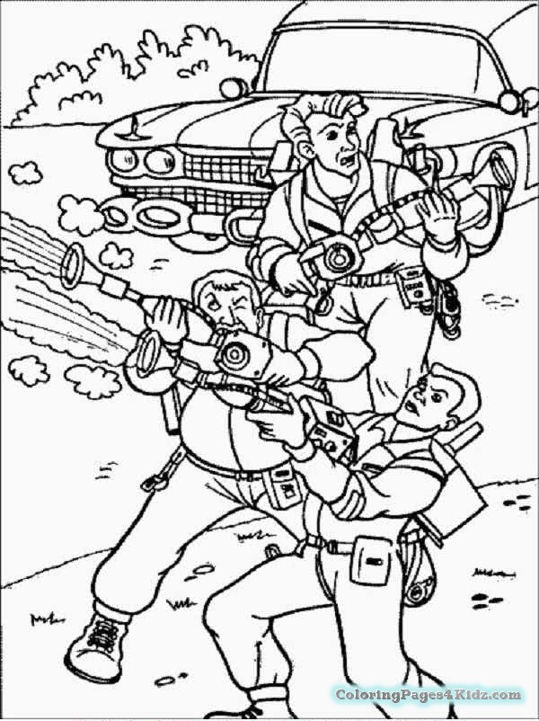 ghostbusters printable coloring pages at getdrawings