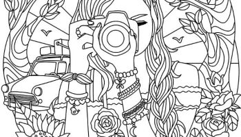 Coloring Pages For Teen Girls Ideas Whitesbelfast