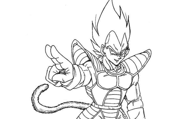goku vs vegeta coloring pages at getdrawings free for