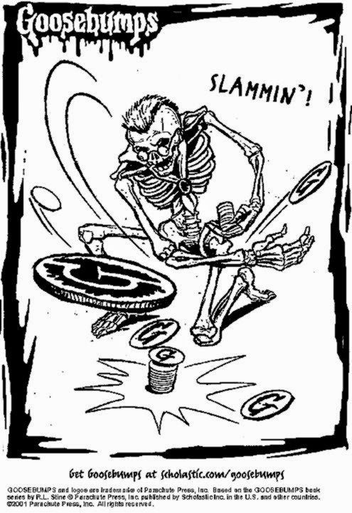 goosebumps printable coloring pages coloring pages cool