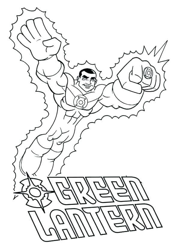 green lantern coloring page lazyfortress