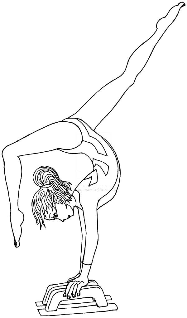 gymnastics coloring pages bilder zum ausmalen fr kinder