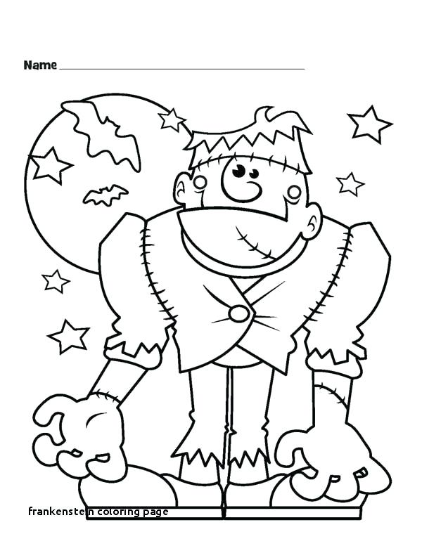 halloween frankenstein coloring pages interesantecosmetice