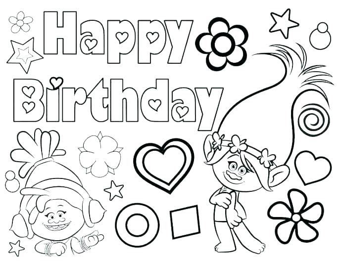 happy birthday nana coloring pages at getdrawings free