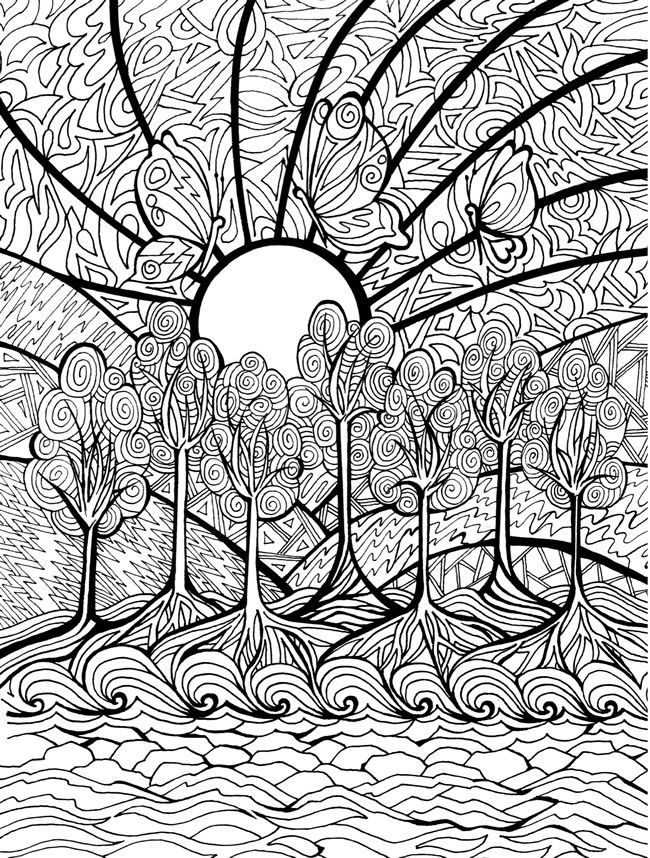 hardcoloringpages difficult coloring pages coloring