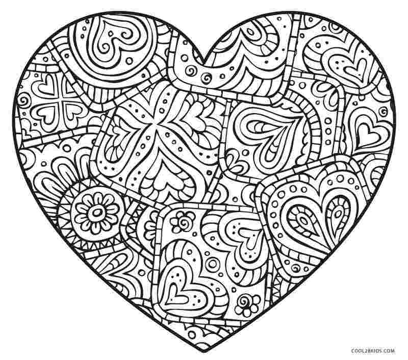 heart coloring pages free printable free printable heart