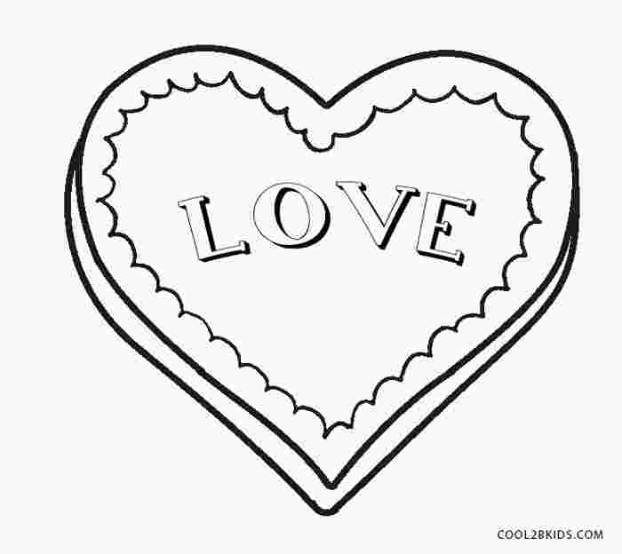 heart coloring pages free printable huangfei