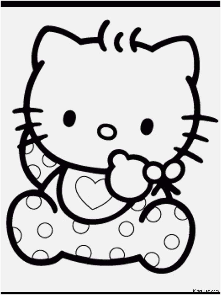 hello kitty ausmalbilder hello kitty coloring pages 1