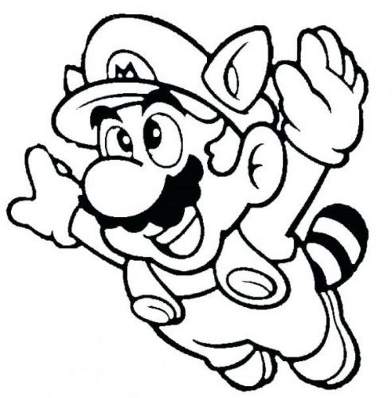 here you can check the collection of super mario coloring