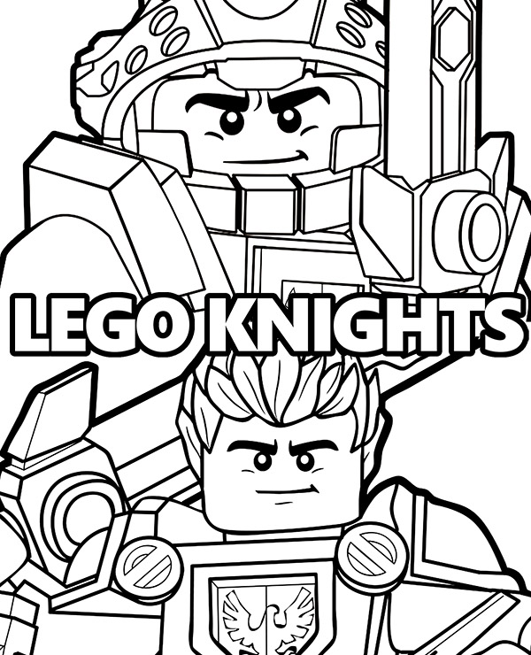 high quality nexo knights coloring pages to print for free
