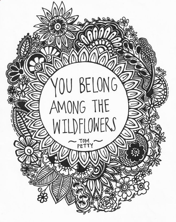 hippie coloring pages tumblr