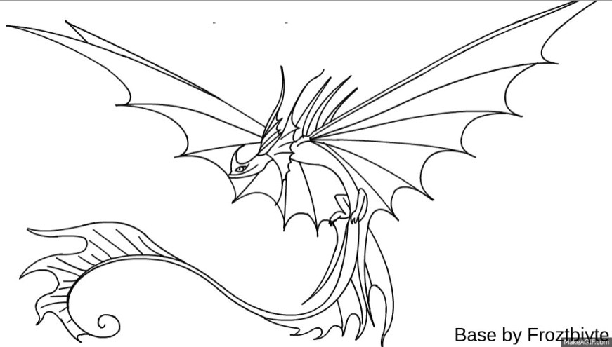 how to train your dragon race to the edge coloring pages