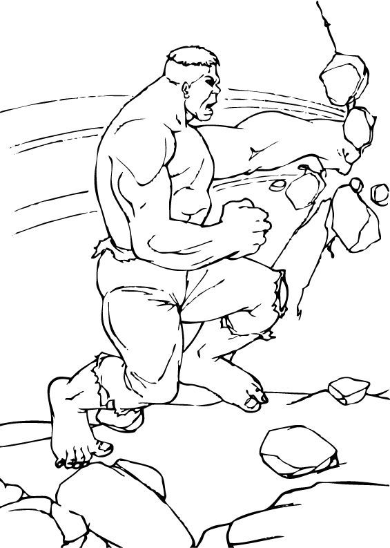 hulk breaking walls coloring pages hellokids