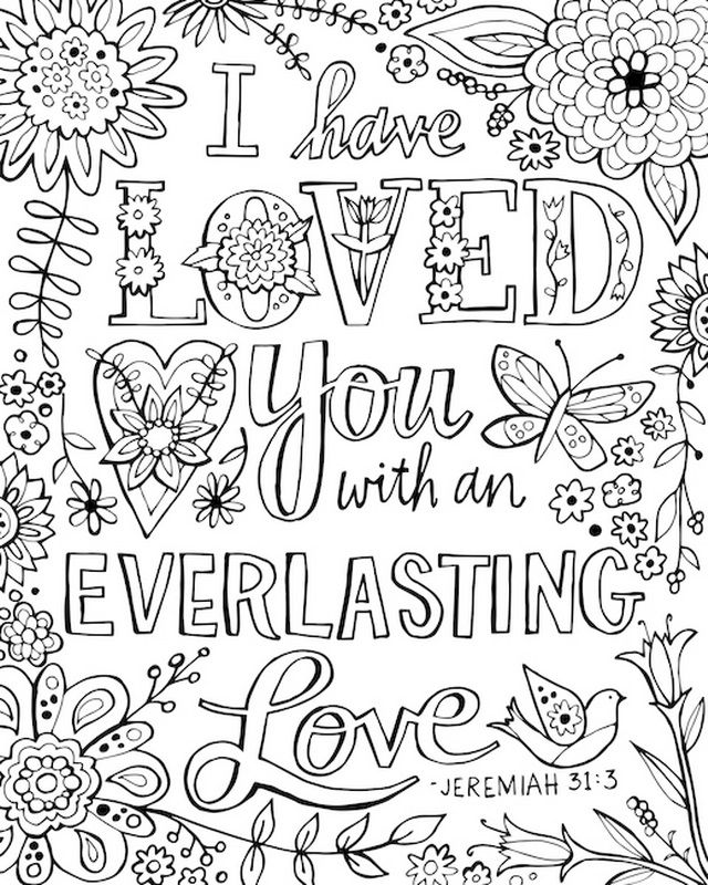 i have loved you with an everlasting love bible verse