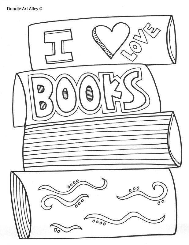 i love books coloring page cool coloring pages coloring