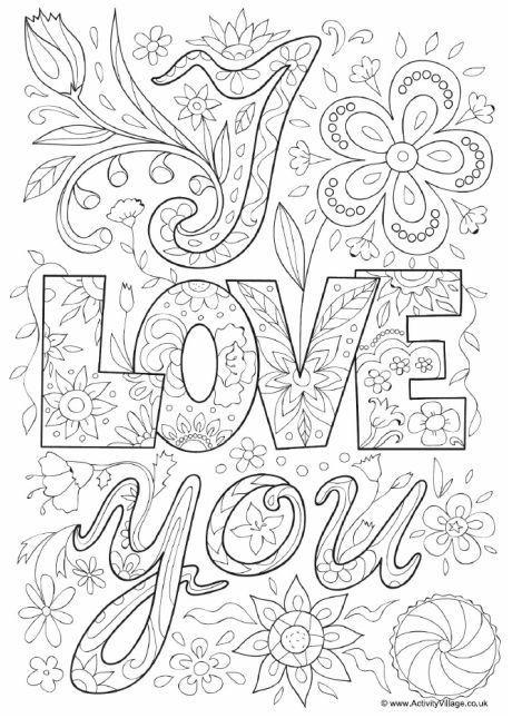 i love you coloring pages for adults explore colouring