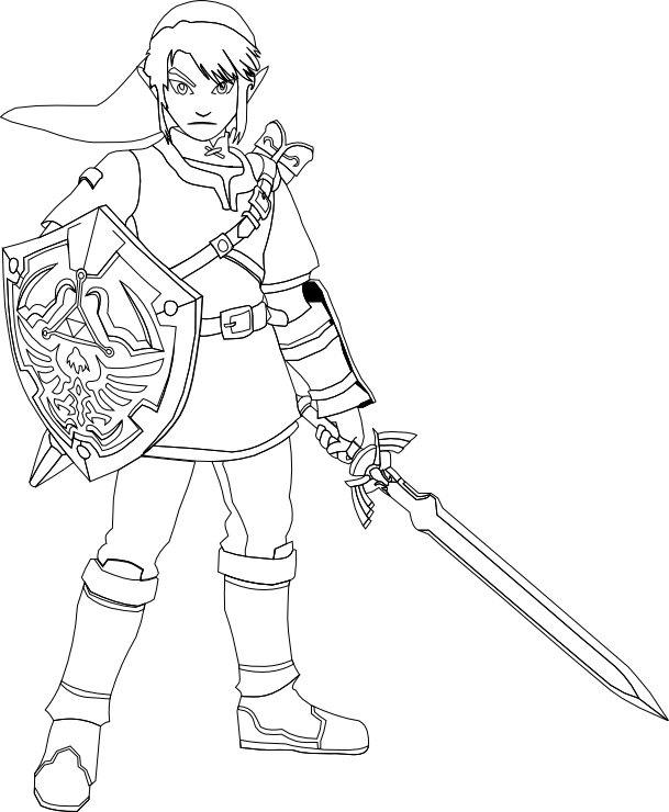 image result for zelda coloring pages ausmalbilder