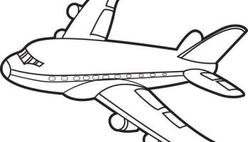 Airplane Coloring Pages Idea Whitesbelfast