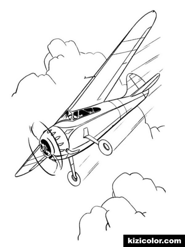jet for boys 3 kizi free coloring pages for children