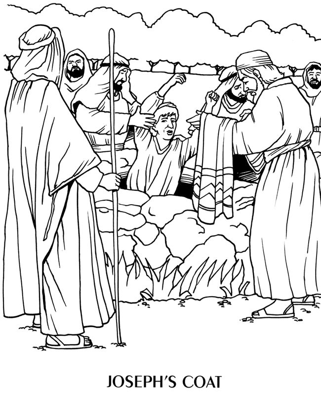 joseph bible coloring page at getdrawings free for