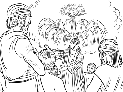 josephs dreams coloring page free printable coloring pages