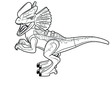 jurassic world coloring pages at getdrawings free for