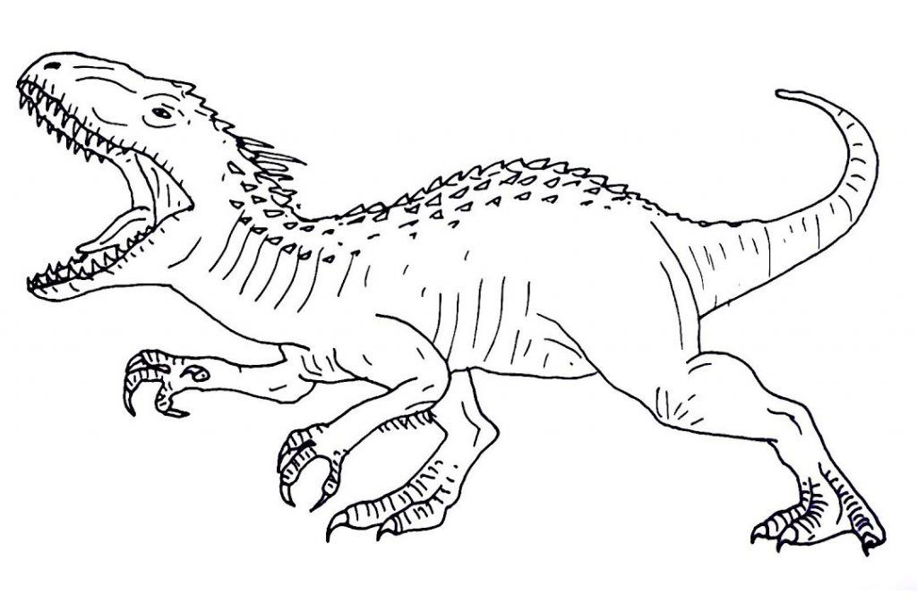 jurassic world coloring pages dinosaur coloring pages