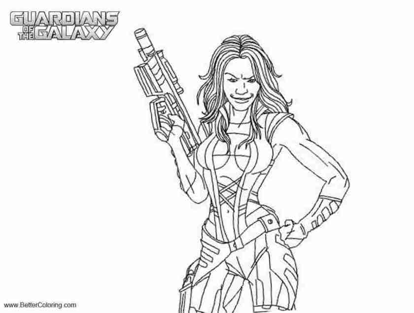 just coloring coloring pages guardians of the galaxy