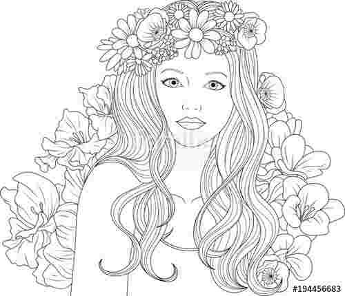just coloring coloring pages pretty girls radioa