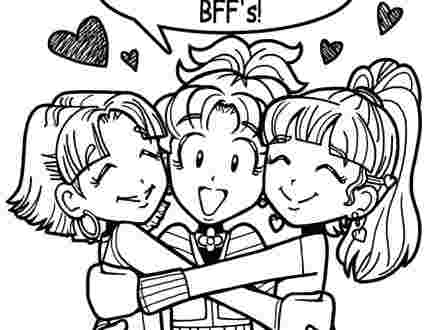 just coloring free printable bff coloring pages bff