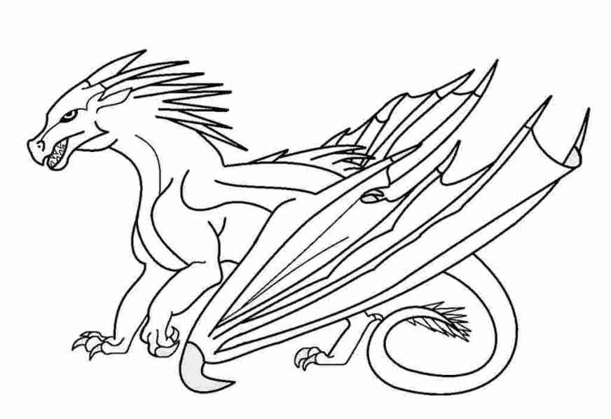 just coloring wings of fire printable coloring pages