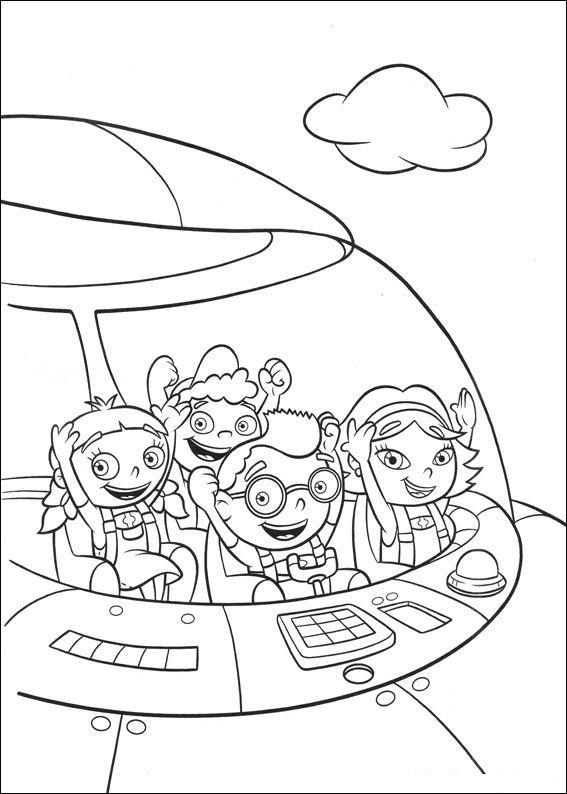 kids n fun coloring page little einsteins little einsteins