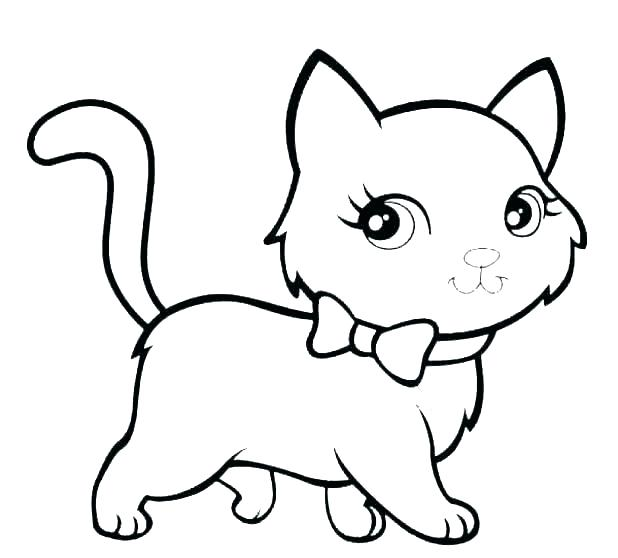 kitty cat coloring pages filelocker