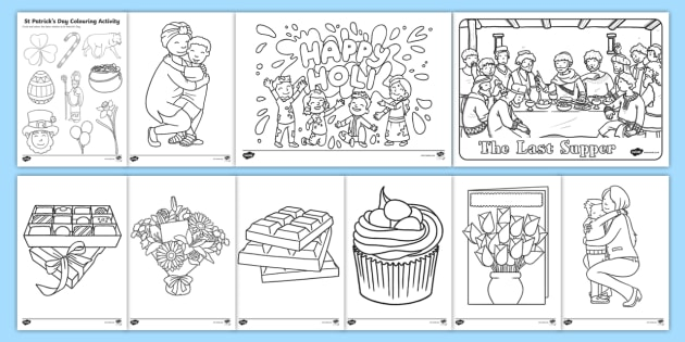 ks1 march coloring pages teacher made