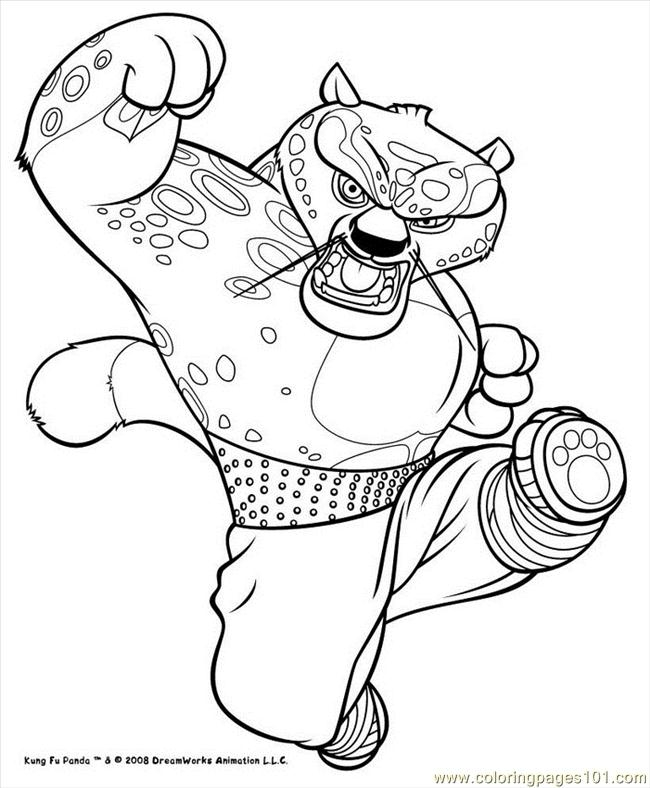 kung fu panda coloring pages free printable download fun