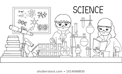 laboratory coloring pages images stock photos vectors