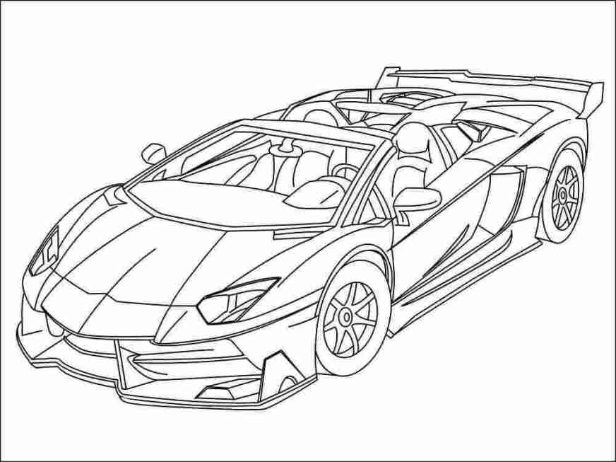 lamborghini coloring pages printable huangfei