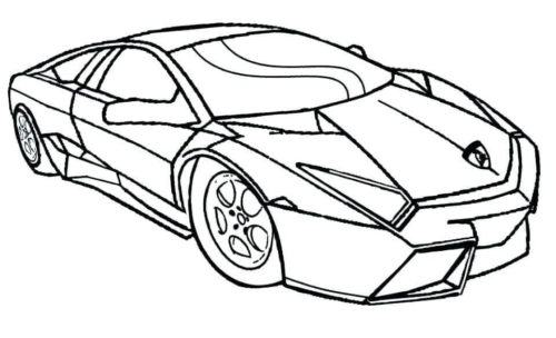 lamborghini coloring pages to print pusat hobi
