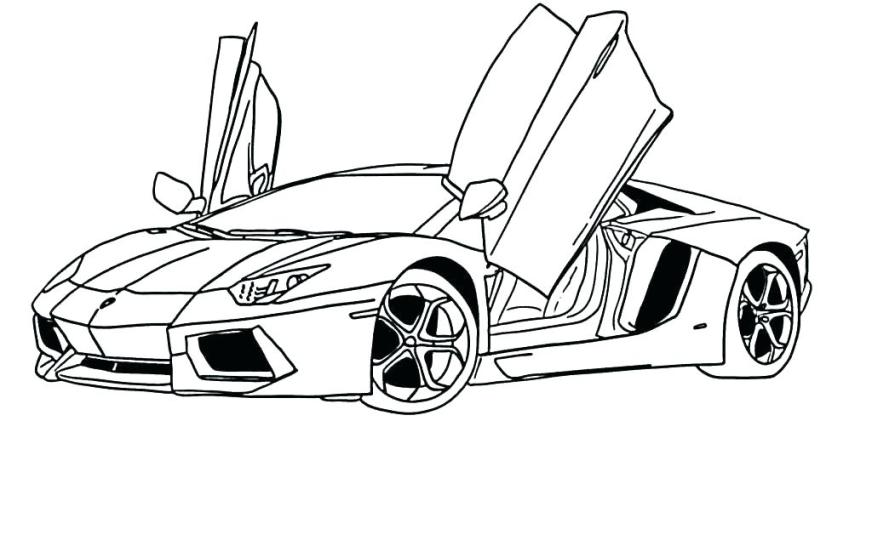 lamborghini gallardo coloring pages at getdrawings