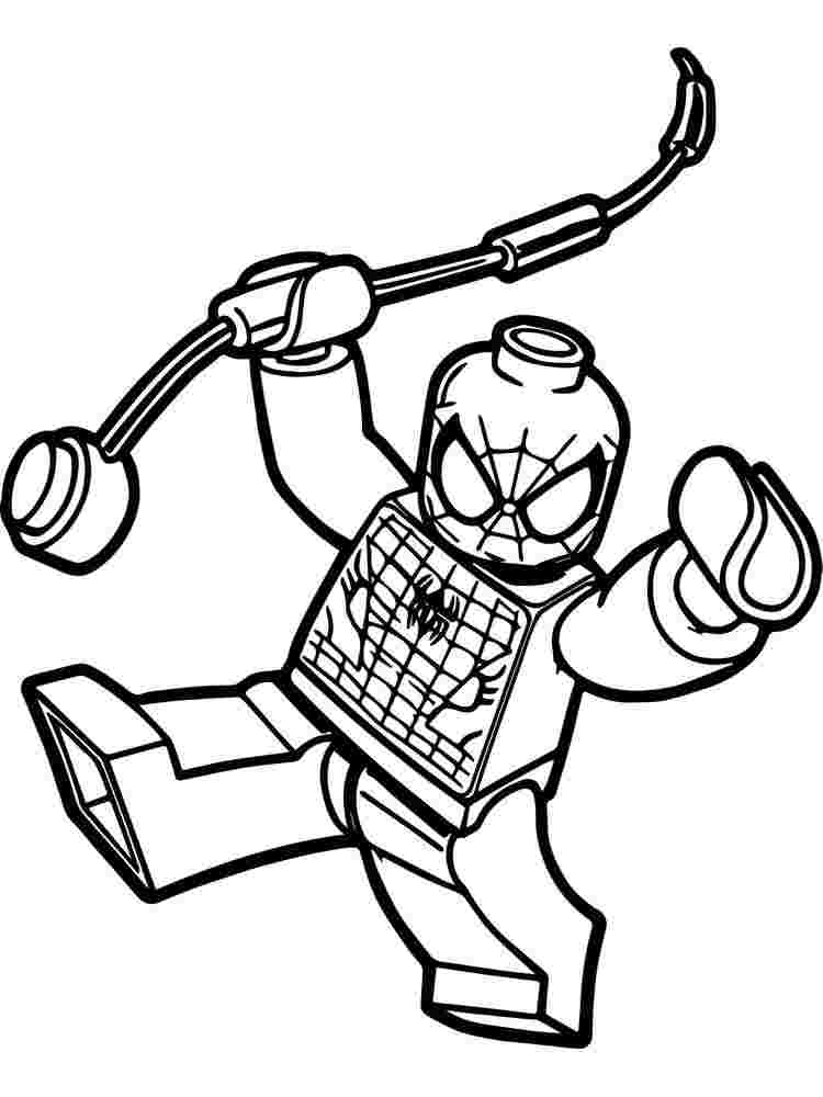 lego spiderman coloring pages games spiderman free coloring