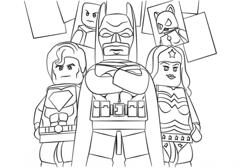 lego super heroes coloring page free printable coloring pages