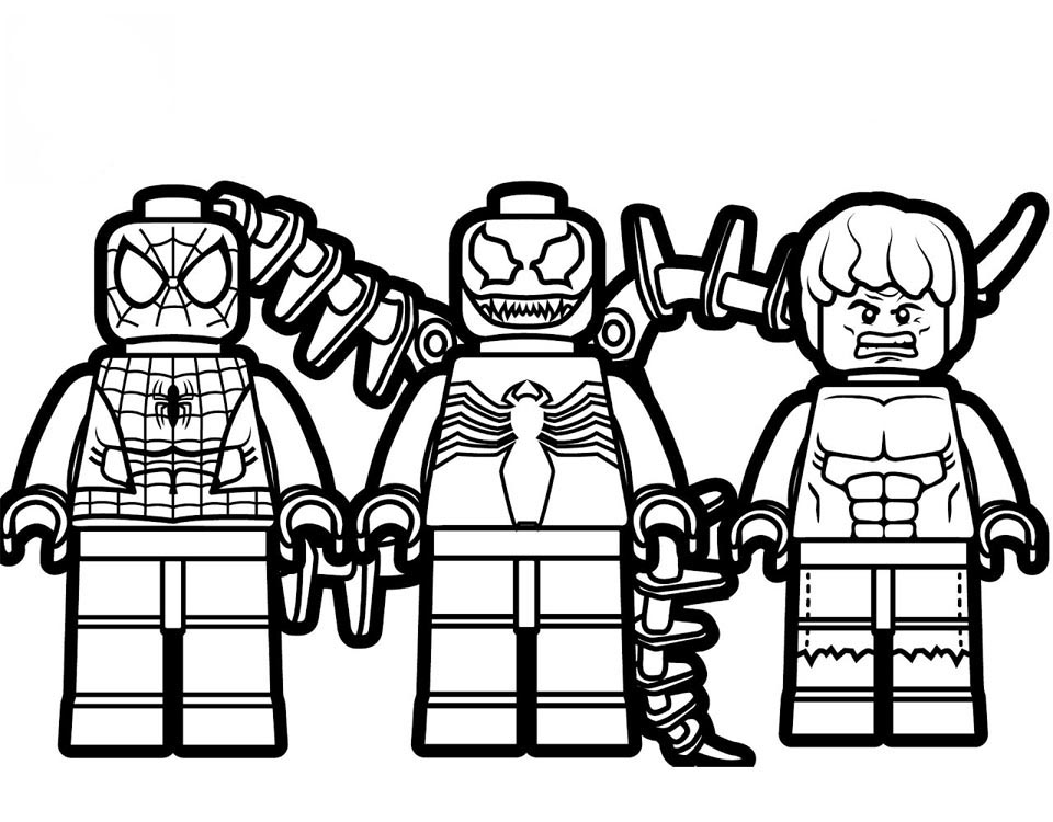 Superheroes Coloring Pages Idea - Whitesbelfast