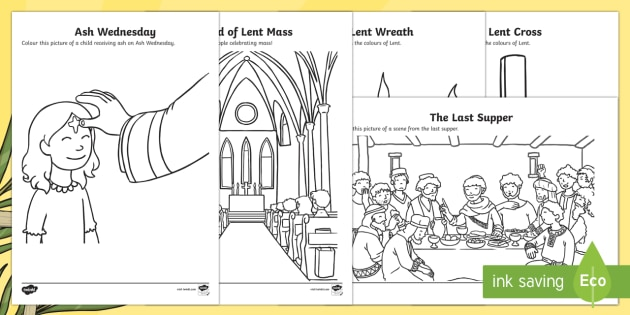 lent coloring pages lent ash wednesday holy saturday