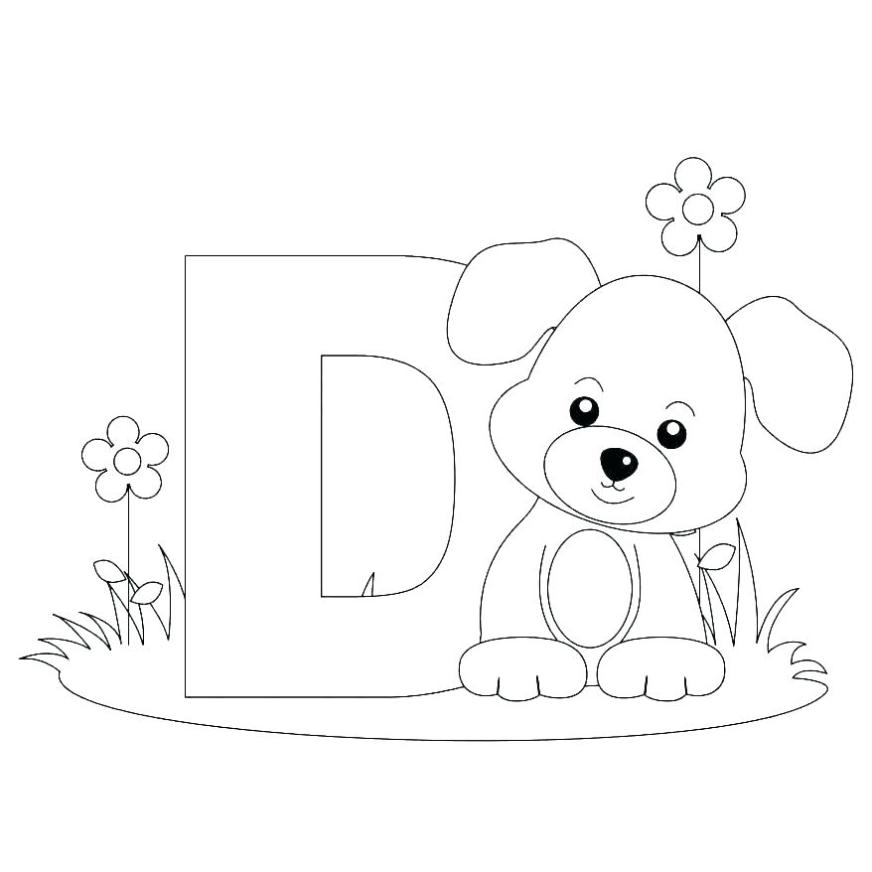 letters coloring pages alphabet printable free winnie the