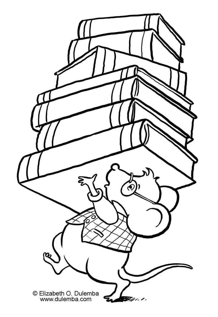 library books drawing at getdrawings free for personal