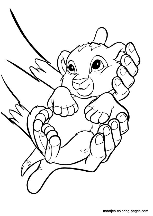 lion king coloring pages ausmalbilder lion king